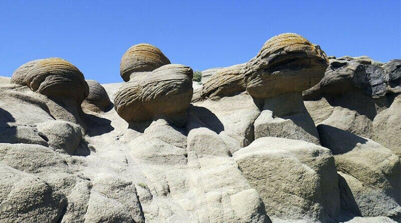Фантастический вид Букобайских яров привлекает к ним повышенное внимание туристов